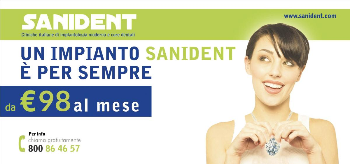 Promo IMPIANTO SANIDENT